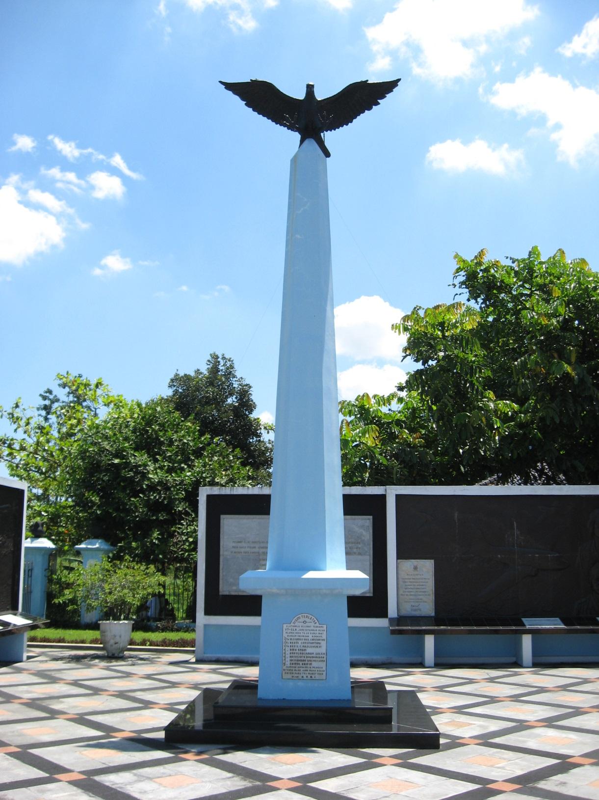 tugu-at-ngoto-commemorating-the-dakota-crash-at-the-crash-site