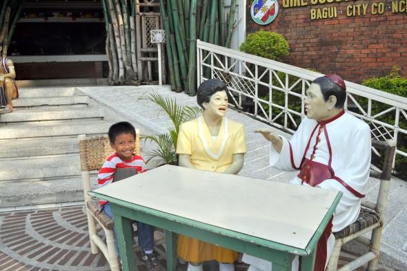 President Aquino and Cardinal Sin